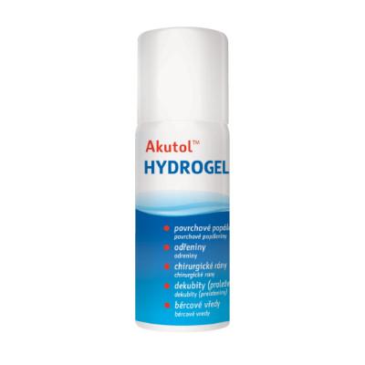 Akutol Hydrogel sprej 75 ml na ošetrenie povrchových rán