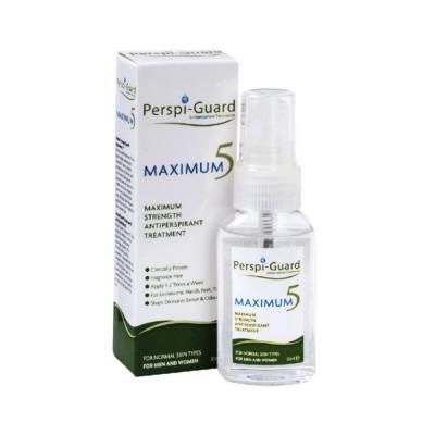 Perspi-Guard Maximum 5 antiperspirant proti nadmernému poteniu 30 ml