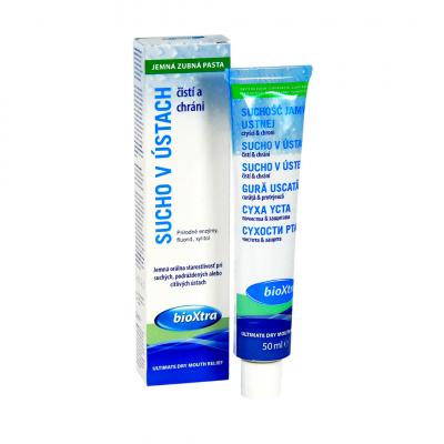 bioXtra jemná zubná pasta 50 ml
