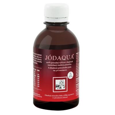 Jódaqua koncentrovaná minerálna voda s prírodným jódom 200 ml
