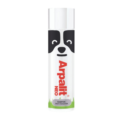 Arpalit NEO antiparazitný šampón pre psy s bambusom 250 ml